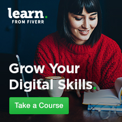 upgrade your skills on Fiverr - Fat Cat Design
