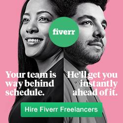 Mitglied bei Fiverr