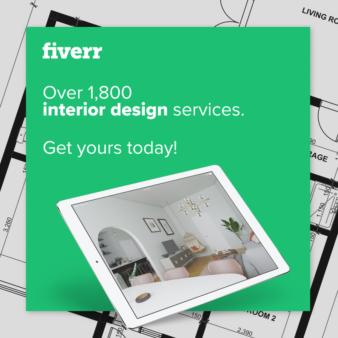 Fiverr interior design services